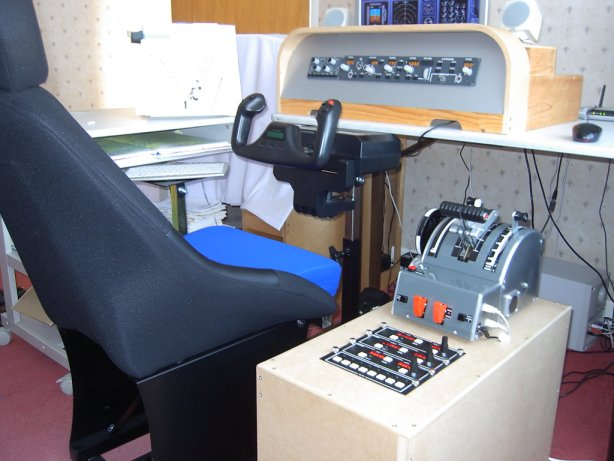 First Time Driver >> Terry's 737NG Simulator